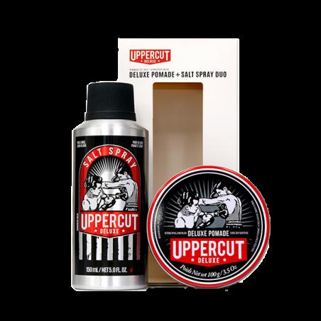 Coffret Salt Spray et Cire cheveux