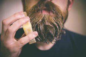 nettoyer barbe : savon à barbe
