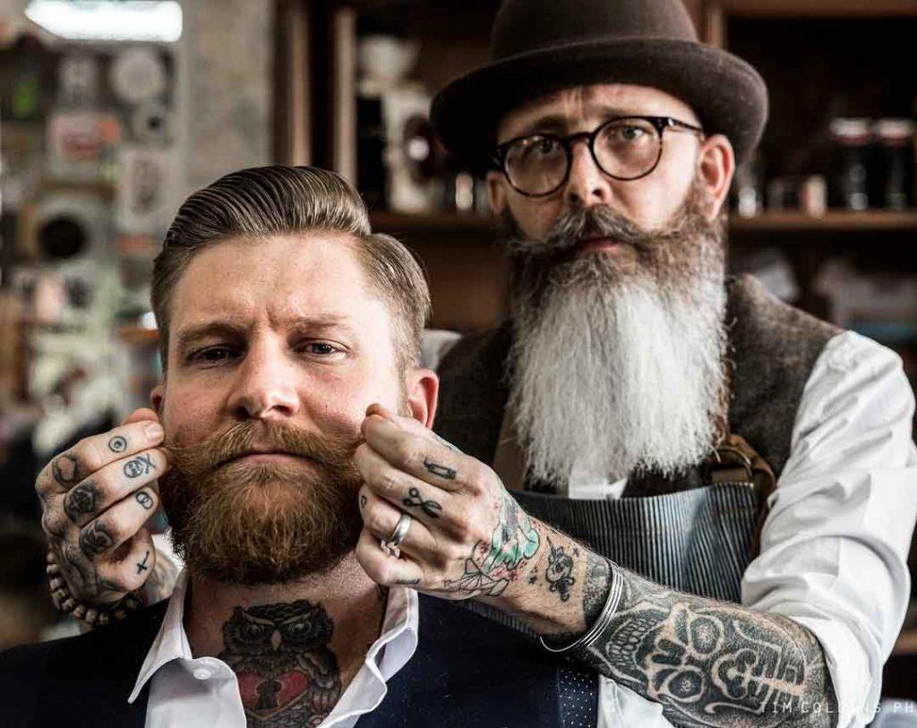 la barbe exprime le caractère d'un homme