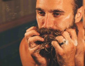 how to clean your beard