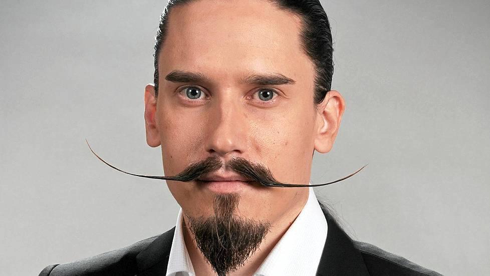 style de barbe dali