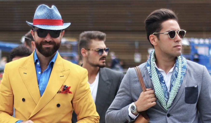 hommes avec différents styles de barbe