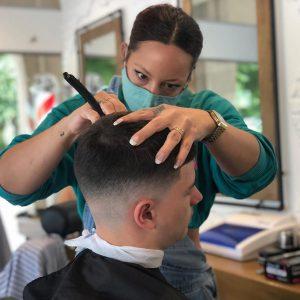 Maggie - coiffeuse barbière